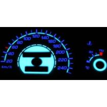 Plazma számlap OPEL ASTRA 1991-98 240km/h